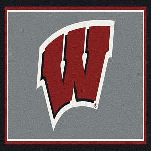 Wisconsin Badgers Team Spirit Rug Wisconsin Badgers