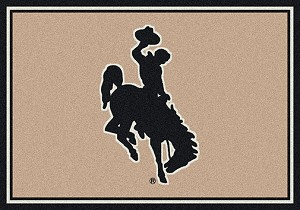 Wyoming Cowboys Team Spirit Rug Wyoming Cowboys