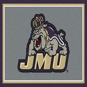 James Madison Dukes Team Spirit Rug James Madison Dukes