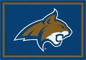 Montana State Bobcats Team Spirit Rug College Team Rugs