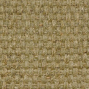 Basketweave 645 Green(Polyurethane-Backed