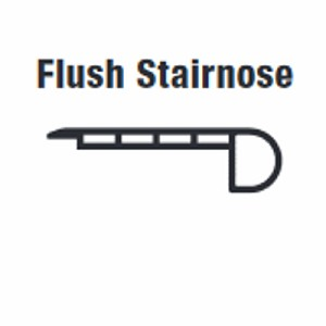 Accessories Flush Stairnose (Soho Gray)