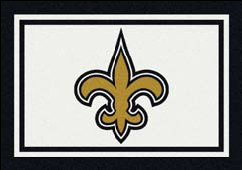 New Orleans Saints Team Spirit Rug New Orleans Saints