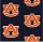 Milliken Carpets: Collegiate Repeating Auburn (Blue) Auby
