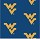 Milliken Carpets: Collegiate Repeating West Virginia (Blue)