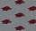 Milliken Carpets: Collegiate Repeating Arkansas Hogs