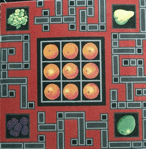 SPFruits and Squares-Tile FRUITS & SQUARES