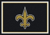 New Orleans Saints Team Spirit Rug
