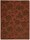 Nourison Rugs: Skyland Rust/Brown