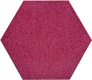 Plane Hexagon EWPX Tile Pink