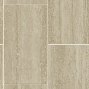 Travertine Tile Tarkett Fiberfloor Fiber Floor Vinyl Taupe